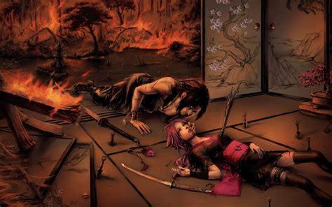 Naruto Anime Fire Sad Sorrow Love Wallpaper