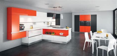 cuisine orange meuble de cuisine nos modèles de cuisine préférés côté