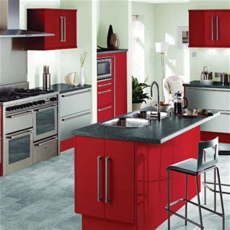 red kitchen theme ideas for kitchen s modern look actual