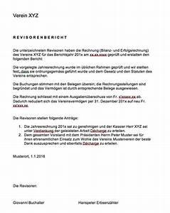 Mietvertrag Vorlage 2015 : revisorenbericht verein vorlage muster und vorlagen kostenlos ~ Eleganceandgraceweddings.com Haus und Dekorationen