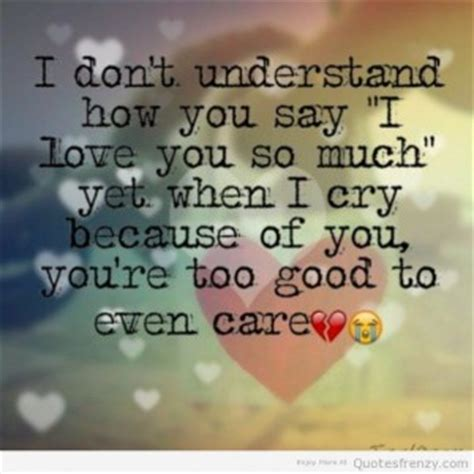cry baby love quotes
