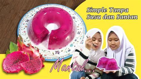 Es campur adalah salah satu minuman khas indonesia yang terkenal manis dan lezat. Cara Membuat Puding Buah Naga Tanpa Susu Simple - YouTube
