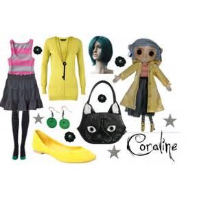 Coraline Halloween Costume