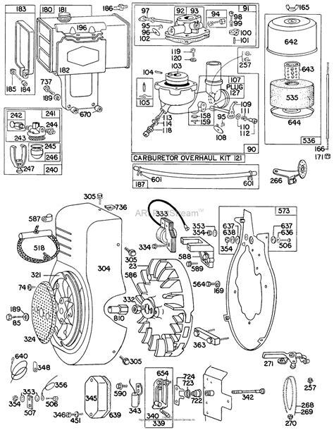 Briggs Stratton Parts Diagram For Carb