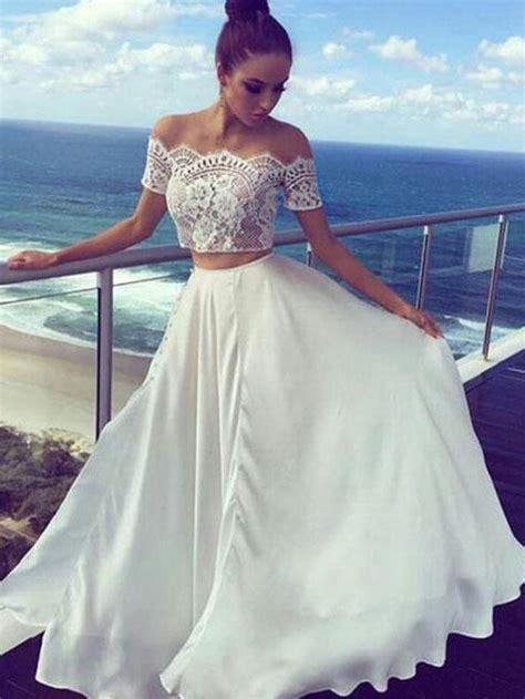 Two Piece Prom Dresses Davids Bridal