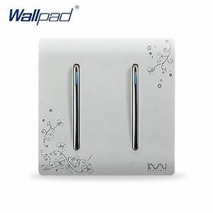 2019 2 Gang 2 Way Light Switch Hot Sale Wallpad Luxury