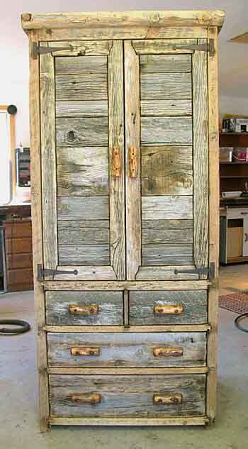 rusticbarnwoodcrafts rustic barnwood armoires