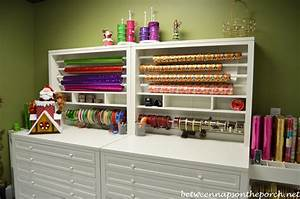 Gift-Wrapping Room with Martha Stewart Craft & Gift-Wrap