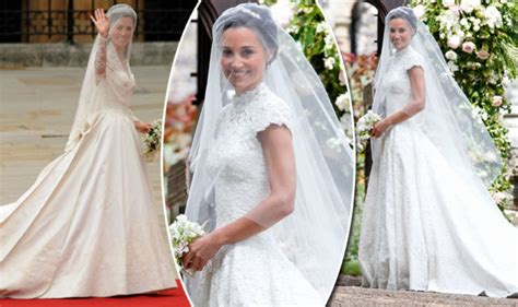 Pippa Middleton Wedding Dress Compared To Kate Middleton