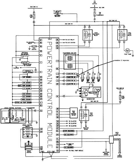 Dodge Neon Computer Wiring Harnes by 95 Dodge Neon 2 0 Sohc