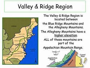 Ppt - Valley  U0026 Ridge Region Powerpoint Presentation