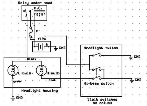 headl wiring help dsm forums mitsubishi eclipse