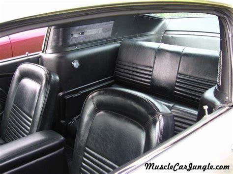mustang fastback interior rear