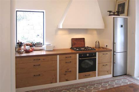 cuisine de cuisine en chêne massif rustique hegenbart