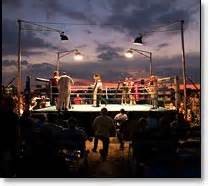 Pier Boxing by Sunset Smackdown Amateur Boxing Event On Pier 54