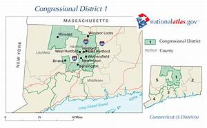 Winsted Connecticut Congressional District and US ...