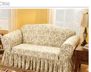 discount chair covers sure fit shop by room shabby chic