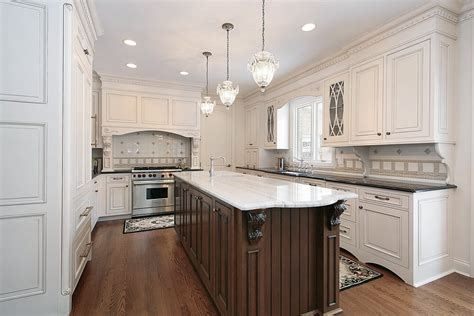 wood kitchen cabinets with white island 31 quot new quot custom white kitchens with wood islands