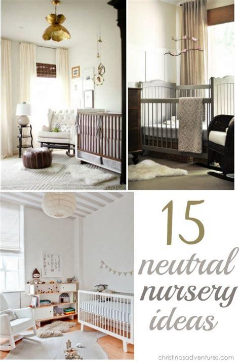 neutral nursery ideas