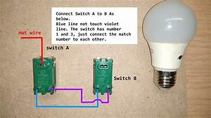 Two Ways Light Switch Wiring Diagram