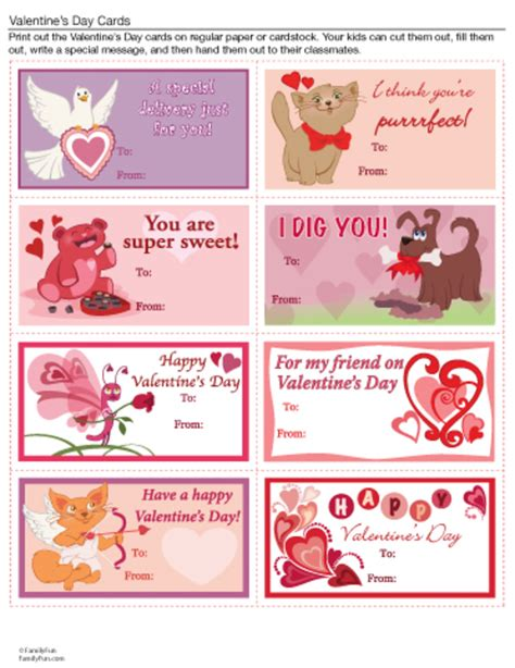 valentines day printables hubpages