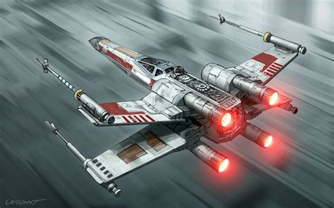 J.j. Abrams Unveils The X-wing For 'star Wars Episode Vii
