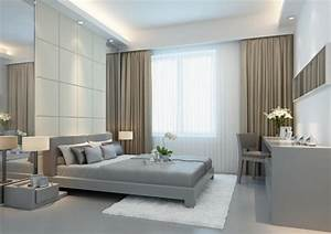 Gardinen Schlafzimmer Modern : 31 ideen f r schlafzimmergardinen und vorh nge ~ Markanthonyermac.com Haus und Dekorationen