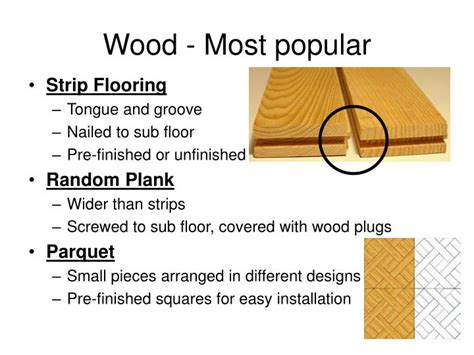 types of flooring materials ppt ppt types of flooring powerpoint presentation id 1005392