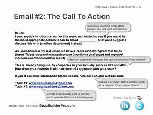 cold emailing templates for prospecting With cold calling email template