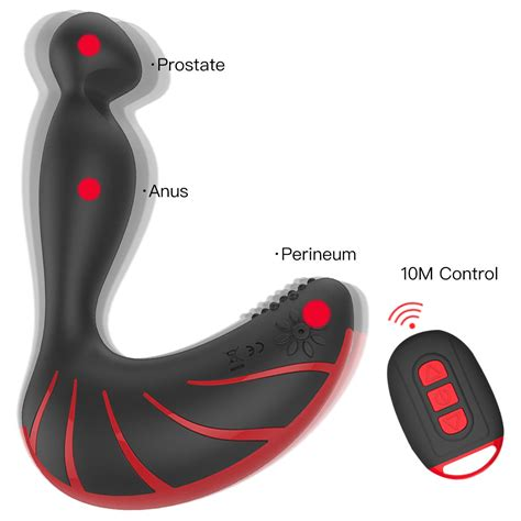 Amazon.com: Heating Vibrating Prostate Massager - Dual