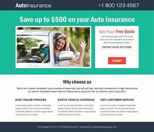 top 20 best auto insurance quote landing page design templates With free lead capture page templates