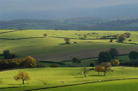 rural landscape morvan france