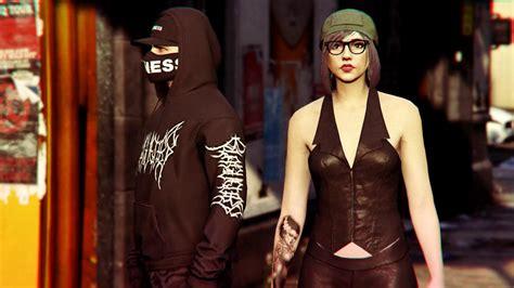 GTA V Online   Female Outfits u2661 - YouTube
