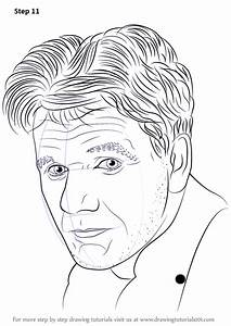 learn how to draw gordon ramsay step by