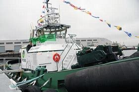 Tugboat Emissions by World S First Hybrid Tugboat Reduces Emissions At