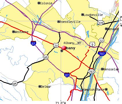 map of albany ny and surrounding area ? bnhspine.com