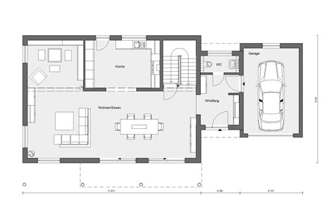 Moderne Häuser Architektur Grundriss by Haus Mit Moderner Architektur E 20 179 3 Schw 246 Rerhaus