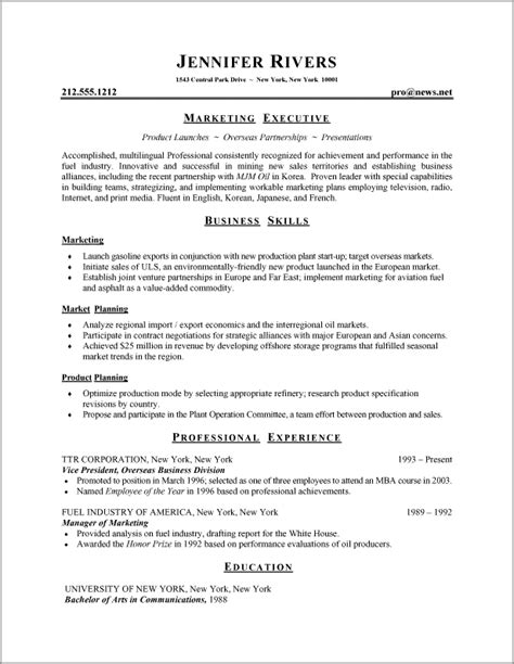 What Is The Correct Format Of Resume proper resume format ingyenoltoztetosjatekok