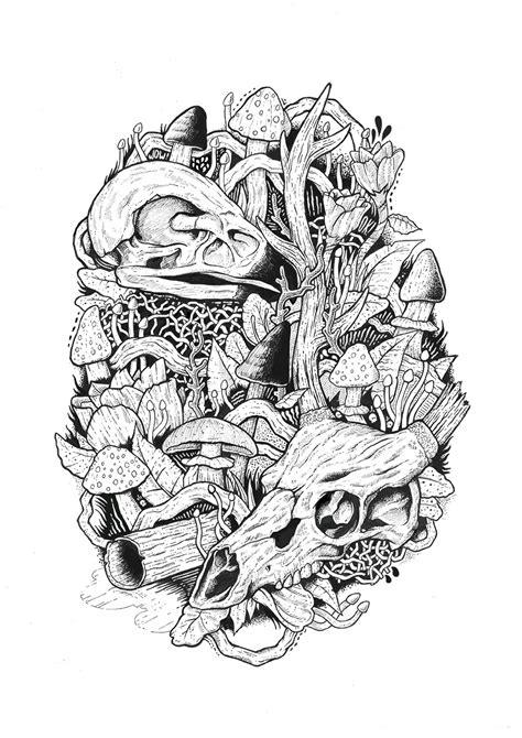 Mushroom Kingdom on Behance