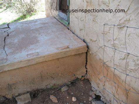 concrete porch separating