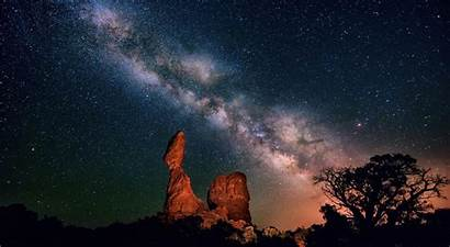 Sky Night Stars Wallpapers Western