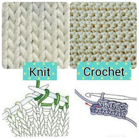 what is the difference between knitting and crocheting knit vs crochet crochet knit sew pinterest