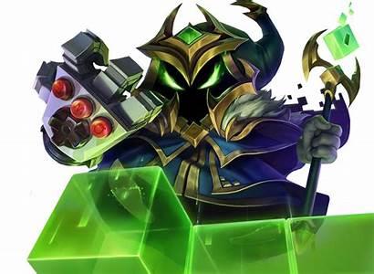 Veigar Boss Final League Legends Render Arcade