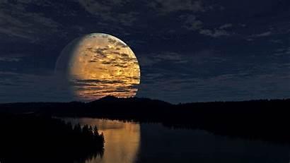 Moon River Nature Wallpapers Desktop Fantasy Background
