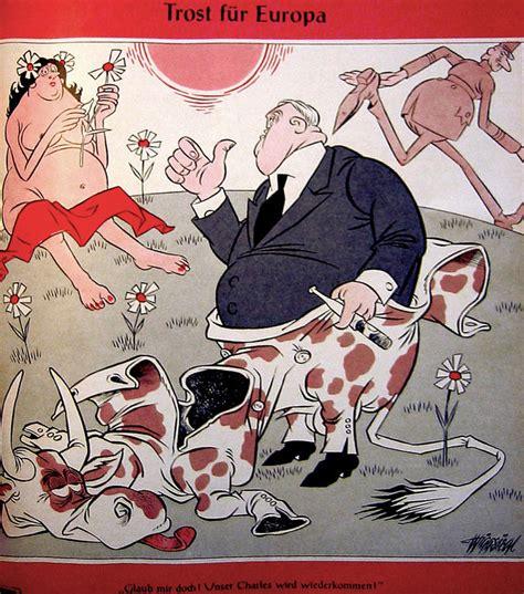 crise de la chaise vide caricature de siegl sur la crise de la chaise vide 31
