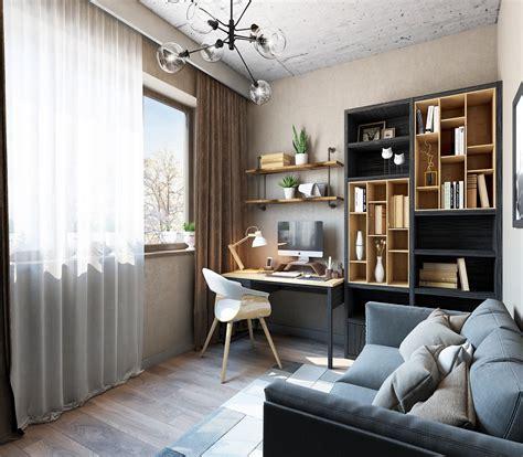 decorer un bureau bureau noir et bois