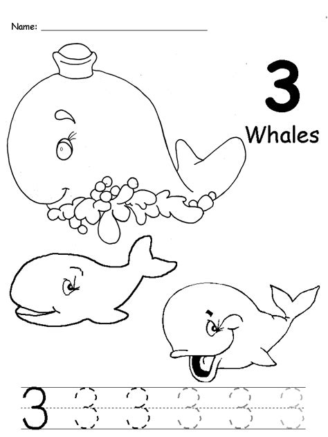 sea animals worksheets for preschoolers animals number trace worksheet crafts and 614