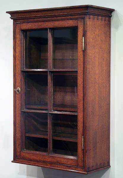Antique Oak Wall Hanging Cabinet Antique Wall Cupboard