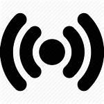 Radio Icon Internet Waves Antenna Wifi Connection
