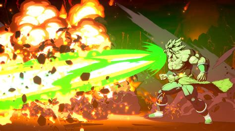 dragon ball fighterz broly dbs  screenshots